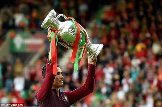 The forward flourished in 2016 and propelled Portugal to the European Championship title