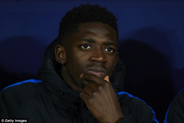 Ousmane Dembele's future is far from clear as he has failed to shine at Barcelona