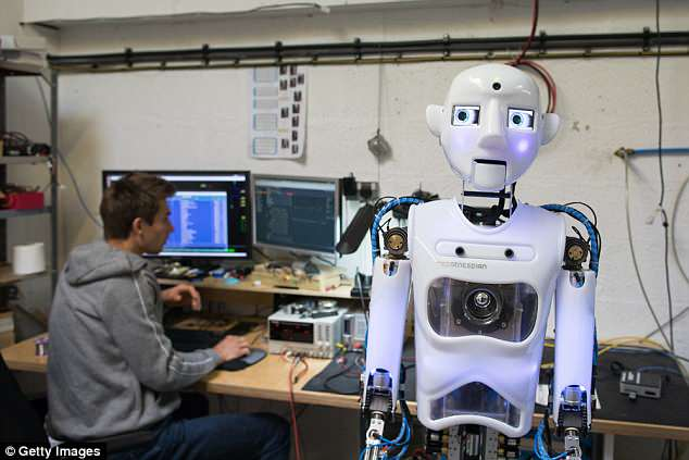 RoboThespian (pictured) can be found at science centres, theme parks and visitor attraction. It is often accompanied by sister model, the SociBot