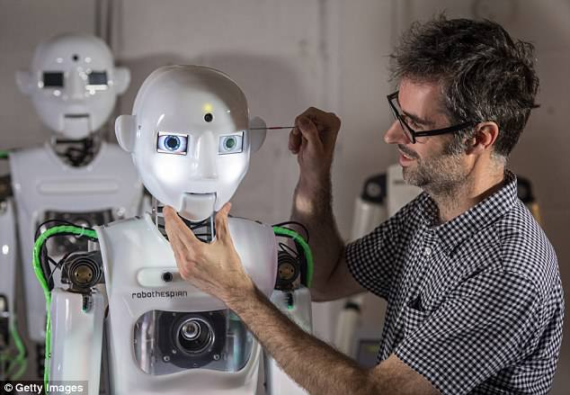 Founded in 2004, the company operating from an industrial unit near Falmouth, is a world leader in life sized commercially available humanoid robots