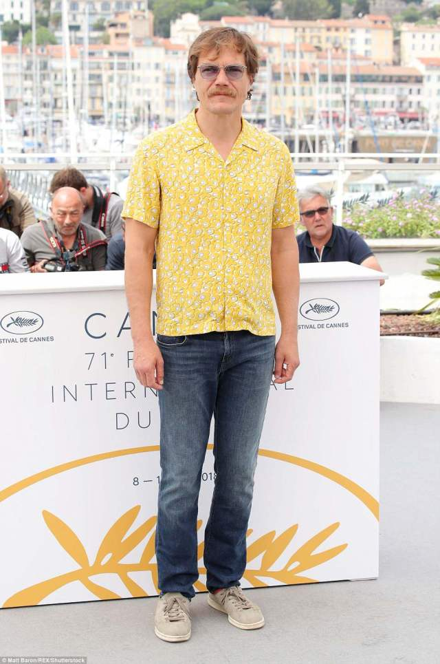 Cannes Film Festival: Michael Shannon attends theFahrenheit 451 photocall