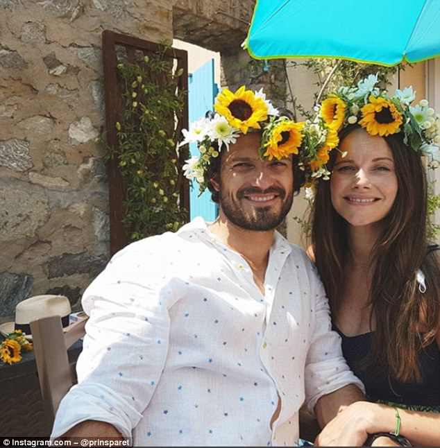 Princess Sofia And Prince Carl Philip Make Their Instagram