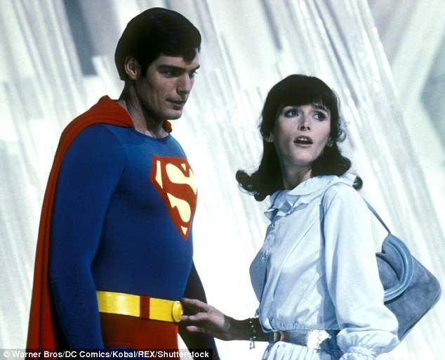 Gone too soon: Kidder, who starred in four Superman films, has died at age 69; here she is seen in 1980 with Christopher Reeve in Superman II