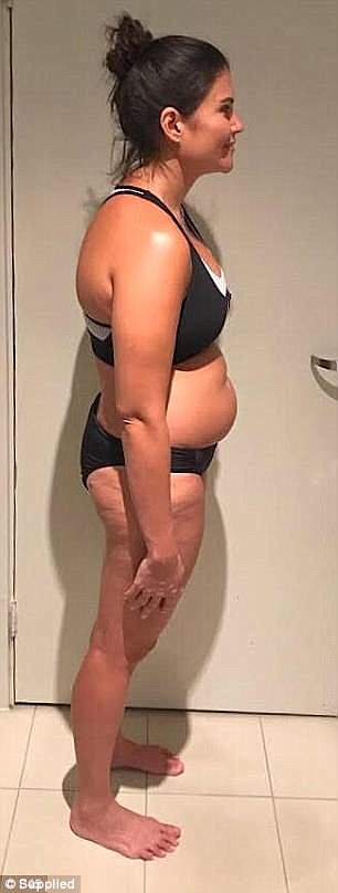 Rhana, from Toowong, took on the F45 Eight Week Challenge in February - the cult fitness program involving 45 minute high-intensity, circuit-training workout classes and a three-stage diet program