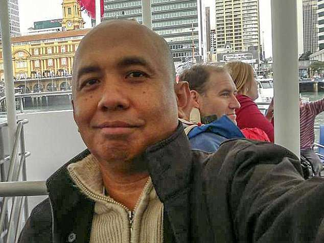Captain Keane believes MH370 was hijacked by pilot Zaharie Ahmad Shah (pictured) and intentionally flown outside the search area