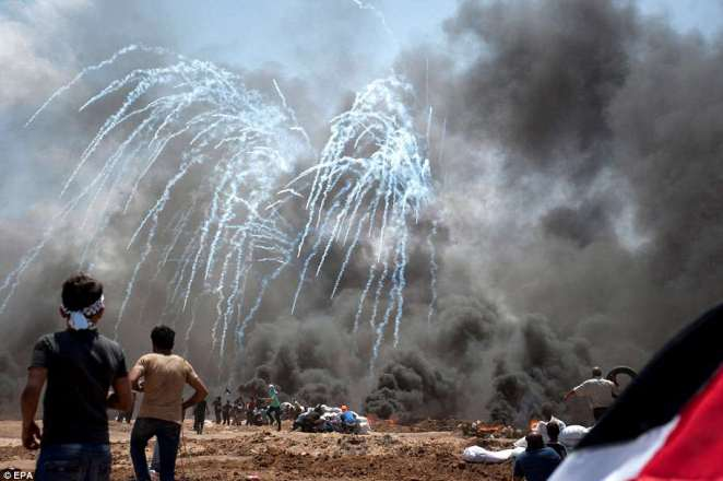 Iran has claimed Israeli officials should be tried as war criminals over the 'brutal massacre' of Gazan protesters
