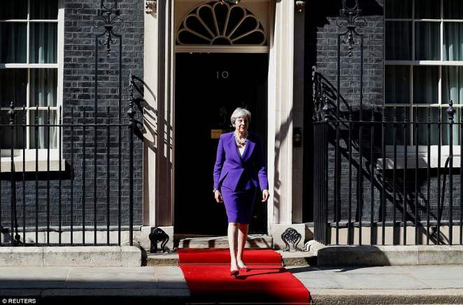 The Prime Minister literally rolled out the red carpet for Mr Erdogan's visit to Downing Street today where the pair are having bilateral talks