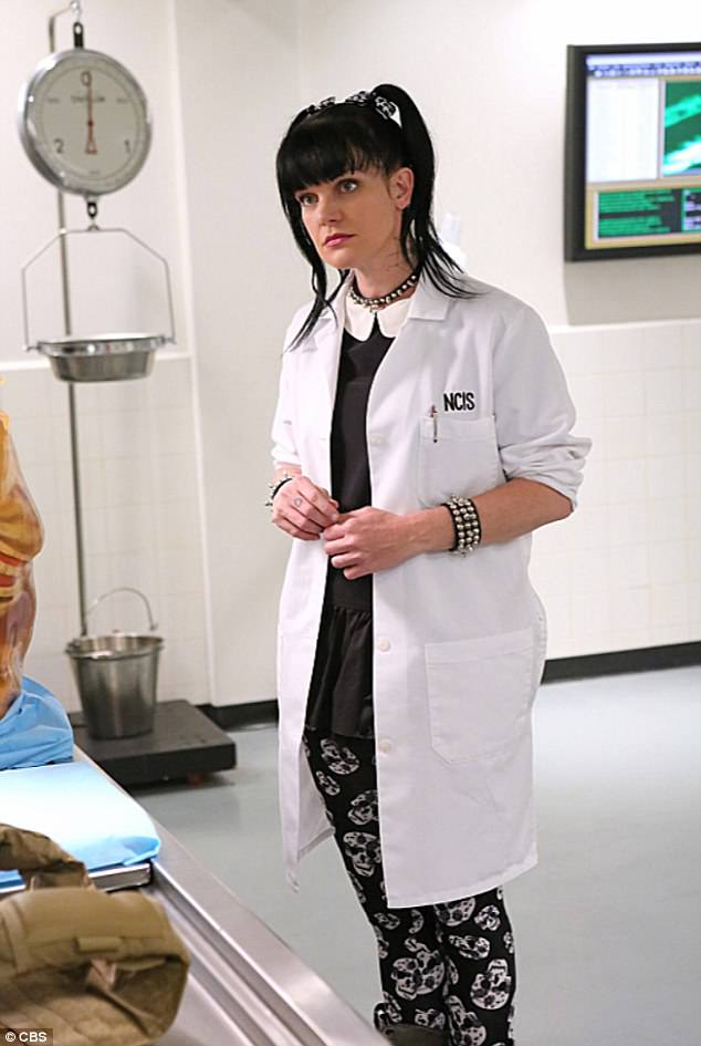 Sad news: Perette announced in October she would be leaving the series after playing forensic scientist Abby Sciuto for 352 episodes