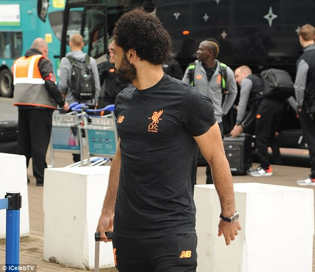 Star man Mohamed Salah is hoped to lead Liverpool to Champions League glory in Ukraine