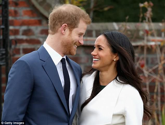 Cheeky!Meghan Markle is preparing to walk down the aisle to marry Prince Harry in the hotly-anticipated Royal wedding in Windsor on Saturday