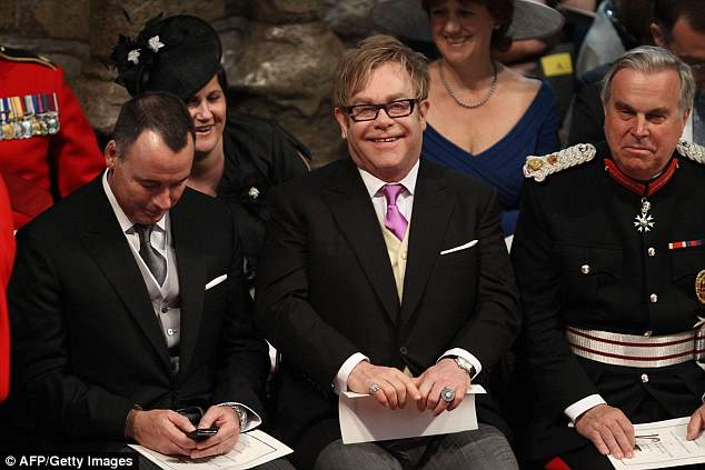 Guest: Elton attended Prince William and the Duchess of Cambridge 's 2011 wedding
