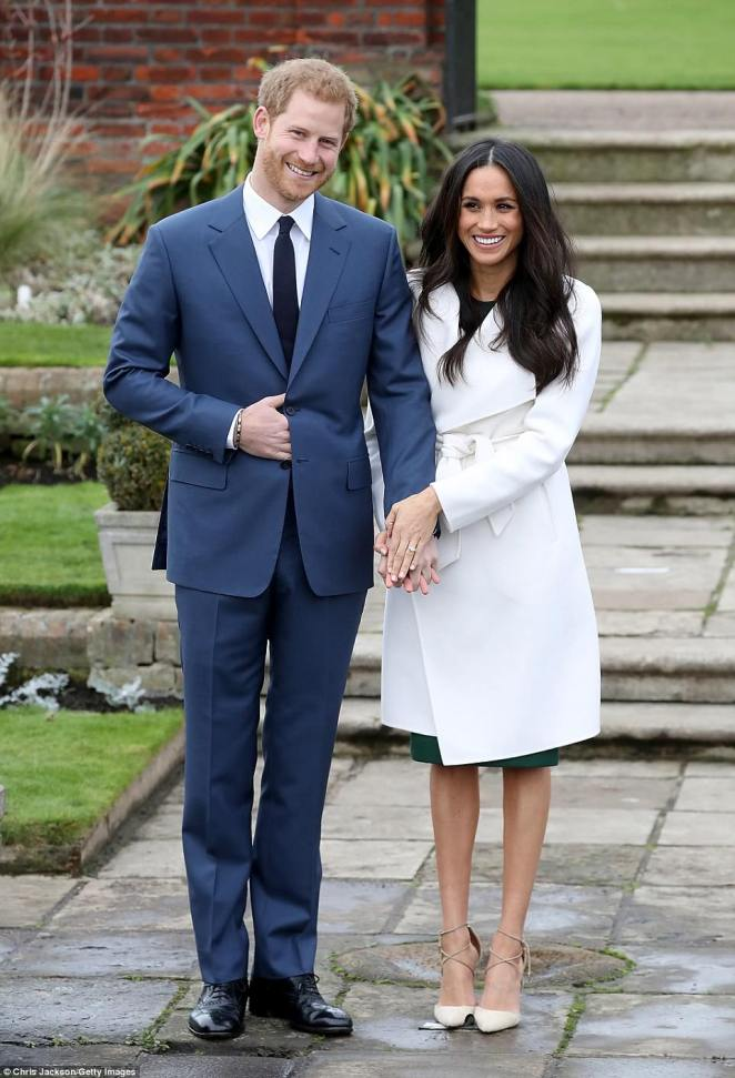 Prince Harry and actress Meghan Markle will marry at St George's Chapel in Windsor on Saturday as millions of people prepare to tune in for the nuptials
