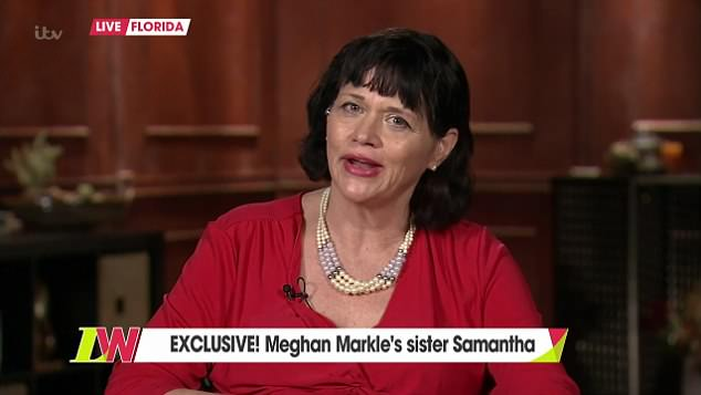 Media appearances: Samantha Markle has become a ubiquitous presence on screens around the world