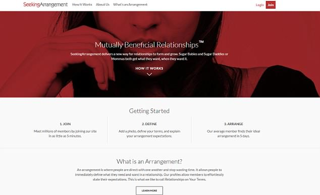Tripathy linked up with his unnamed paramour on SeekingArrangement.com before the pair met in person on June 15, 2016