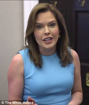 But there were also plenty of White House staffs who only heard Yanny, includingstrategic-communications director Mercedes Schlapp
