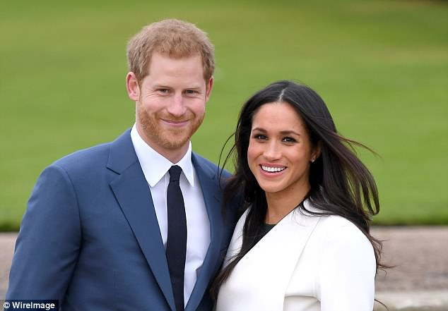 The old remarks have re-emerged two days before the Princess of Wales' son Prince Harry is set to marry California actress Meghan Markle on Saturday. Couple pictured above in England in November