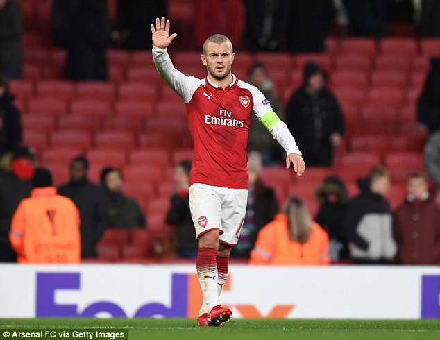 Wilshere has not hit the form required to go to Russia and will have to watch from afar