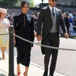 Photos:Amal and George Clooney,Oprah Winfrey, David and Victoria Beckham,Serena William's at the Royal Wedding