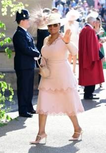 Oprah Winfrey at Royal Wedding Dress