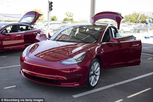 Billionaire tech mogul and Tesla boss Elon Musk released new details on the long awaited Model 3 sedan on Sunday in a series of tweets (Image 3)