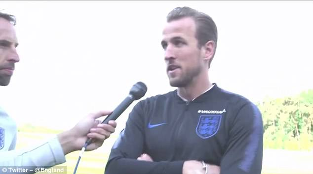 Kane described it as an 'amazing honour' to be named captain for the tournament in Russia