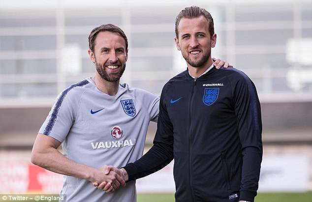 Harry Kane will captain England at the 2018 World Cup in Russia, it has been announced