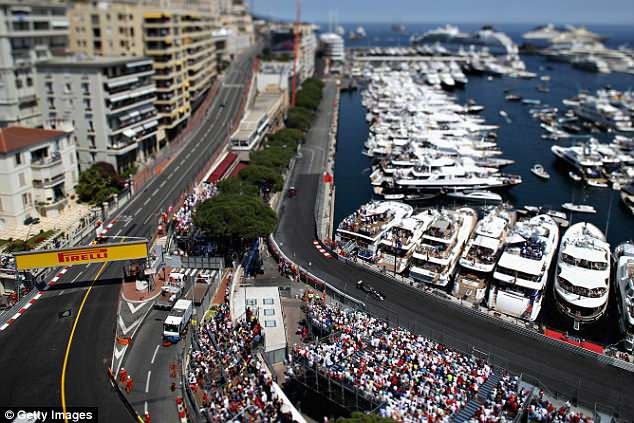 Monaco Grand Prix 2018 Guide Time Channel Grid Position And More Daily Mail Online