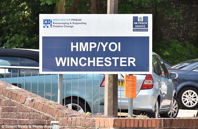 A month after Powell arrived at Winchester Prison it is alleged that Dyer started an inappropriate 'sexual' relationship with him