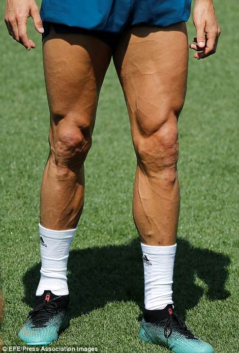 Ronaldo Leg Muscles : ronaldo, muscles, Secrets, Cristiano, Ronaldo, Physical, Phenomenon, Express, Digest