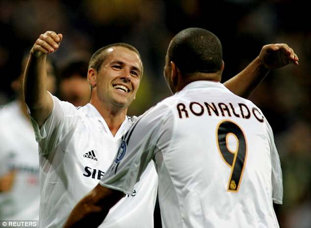 In his only season in Madrid, Owen scored 15 goals in 40 matches before returning to England