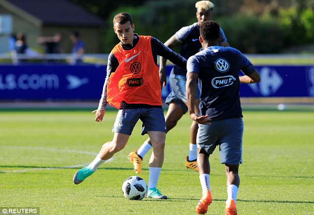 Griezmann is under pressure to perform at the highest level at the World Cup in Russia