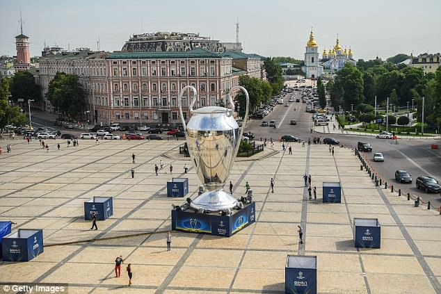 Excitement is really starting to build ahead of the Champions League final on Saturday night
