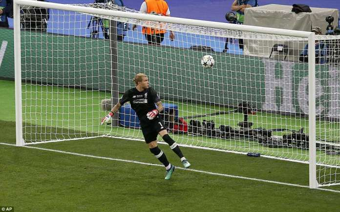 The German goalkeeper fails to hold on to Bale's fierce left-footed strike, which sealed victory for the Spanish giants