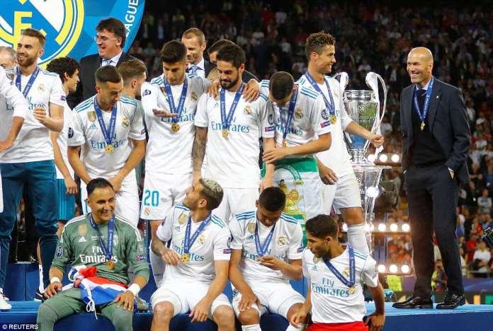Zinedine Zidane has led Madrid to yet another European triumph following their tough domestic season