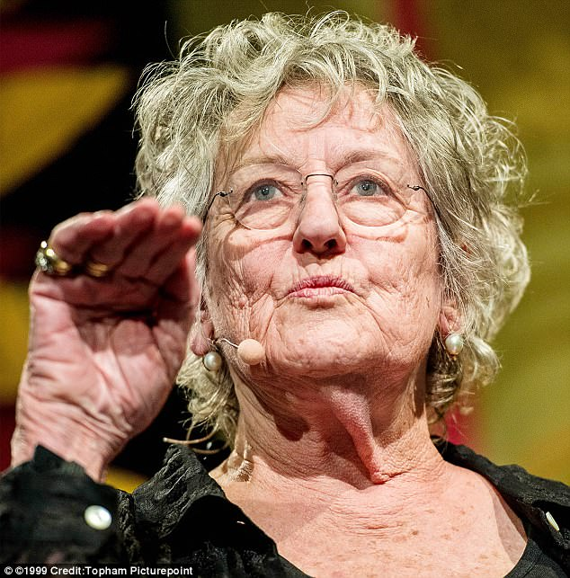 Germaine Greer, 79 (pictured at the Hay Festival in Wales today) has said she doesn't believe rape is a spectacularly violent crime and it mostly 'bad sex'