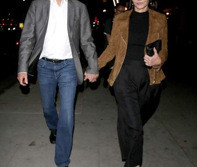 Holding Hands Ted Danson Held Hands With His Wife Mary Steenburgen While Headed To The