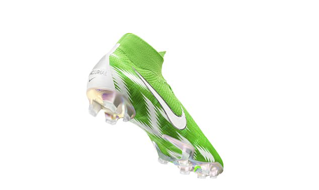 Nike have also released the 'Naija inspired' Mercurial 360 boots in green and black