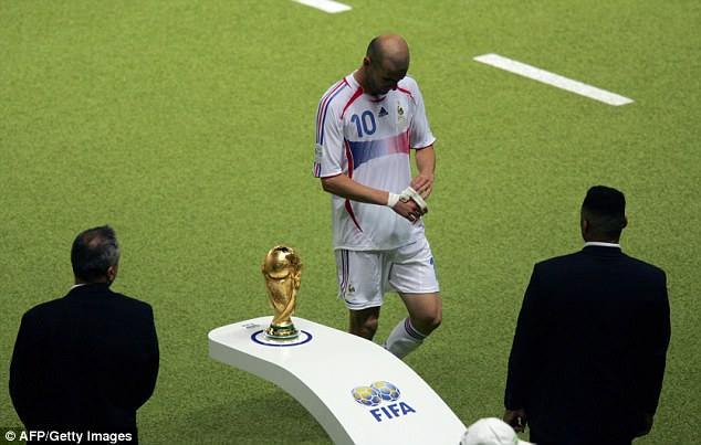 Zidane trudges past the World Cup after his international career ended in disgrace