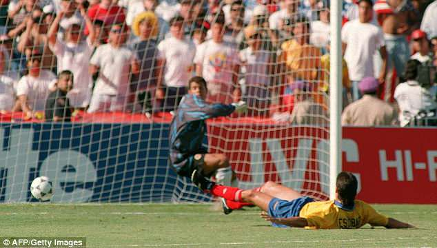 The own goal proved costly and he was shockingly shot to death after the 1994 World Cup