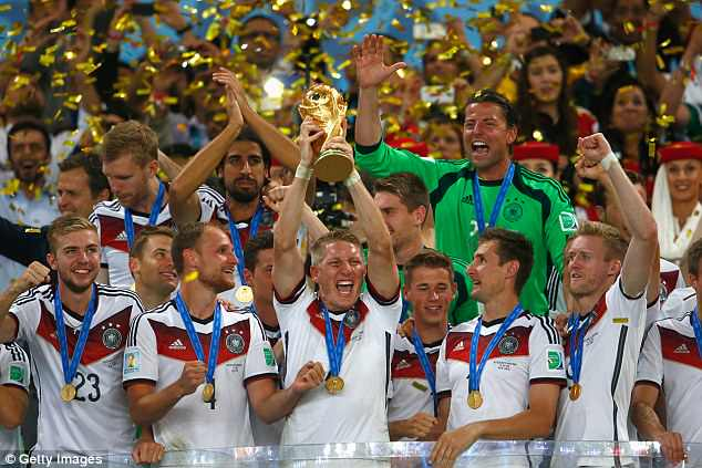 Germany are aiming to be the first team to successfully defend the World Cup for 56 years