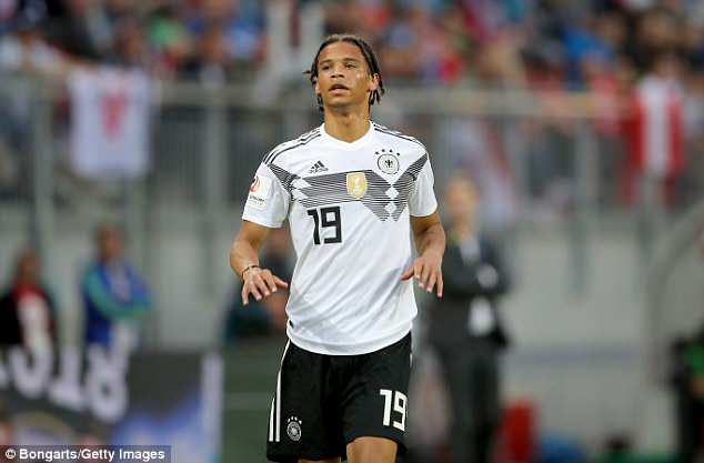 Leroy Sane has been sensationally left out of Germany's final 23-man squad for the World Cup