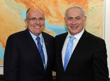Rudy takes a break from representing Trump to travel to Israel