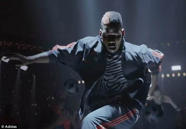 Paul Pogba plays a starring role in the new adidas advert 'Create the Answer' for the World Cup
