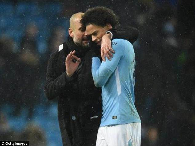 Pep Guardiola has been backed as the man to help Leroy Sane cope with World Cup rejection