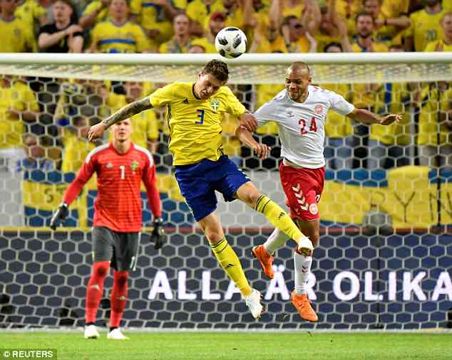 Manchester United paid £30million to bring the Swedish defender to England last summer