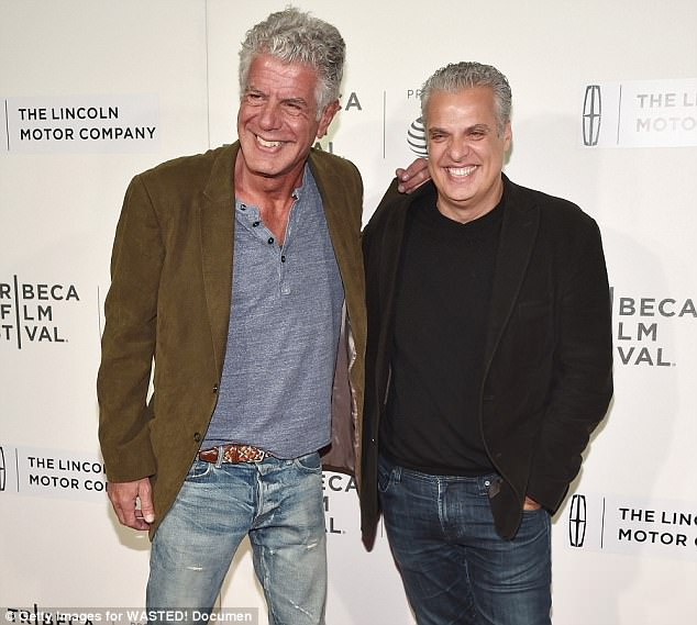 His chef friend Eric Ripert, who was the one to find Bourdain in the bathroom, knew something was wrong when he didn't show up for their planned dinner