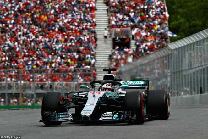 Lewis Hamilton struggled to get into his usual rhythm in Montreal after starting from further behind on the grid