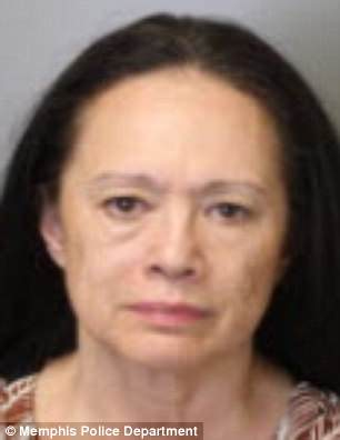 Leimome Cheeks, 62, is pictured above in her mugshot