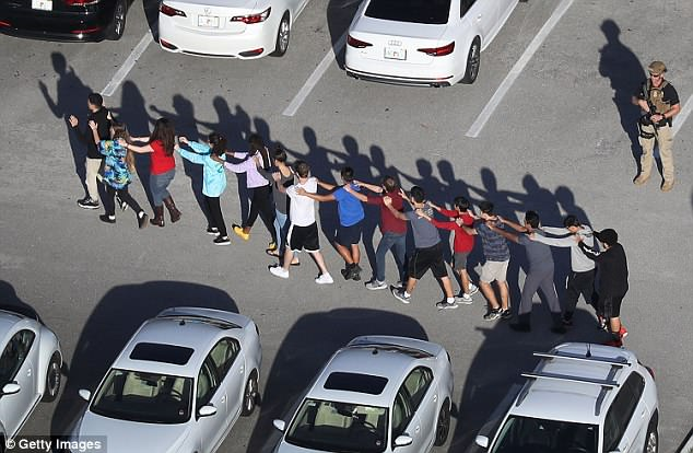 A retired Secret Service agent pointed out security vulnerabilities at a Florida high school two months before a gunman killed 17 people there