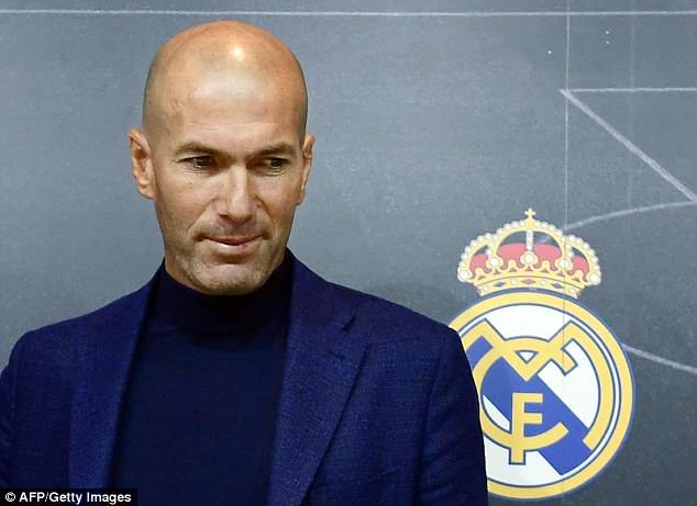 Zidane stepped down from his role as Real Madrid boss after his third Champions League win